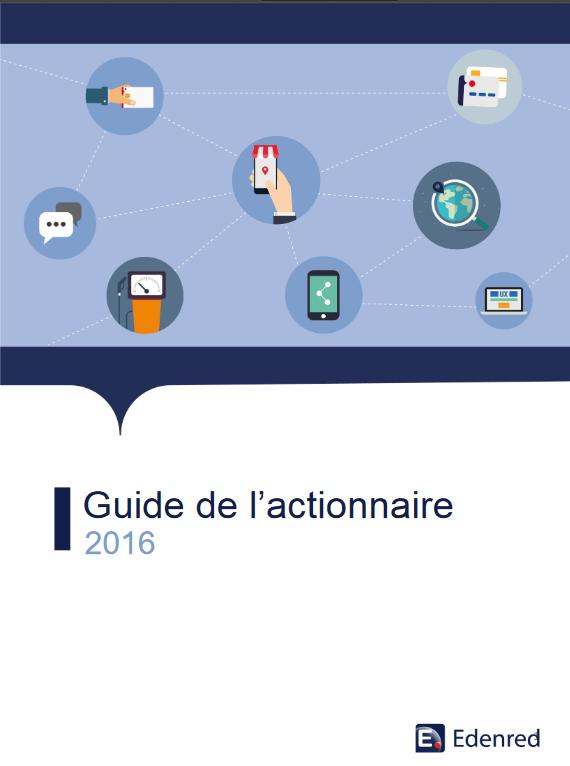 GUIDE ACTIONNAIRES EDENRED 2015