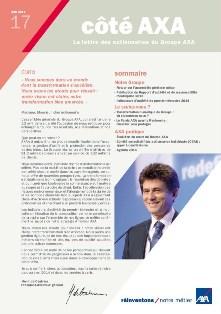 Lettres aux actionnaires AXA juin 2014
