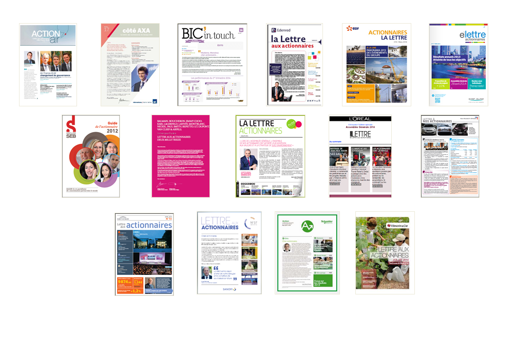 Publications de nos partenaires